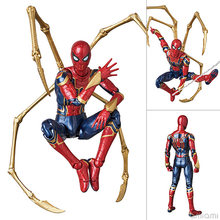 15 centimetri Avengers super hero Spider Man PVC Action figure giocattoli iron man SpiderMan Joint mobile figure Da Collezione modello giocattoli regalo(China)