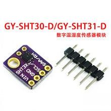Relação original i2c sht31 SHT30-D saída digital temperatura umidade sensor precisão breakout tempo SHT30-DIS para arduino