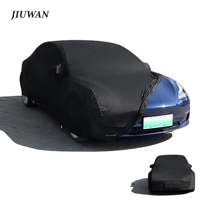 Stretch Car Cover Suitable for Car Tesla Model 3 S X Y Sunscreen Windproof Dustproof Anti-scratch Anti-ultraviolet Car Jacket