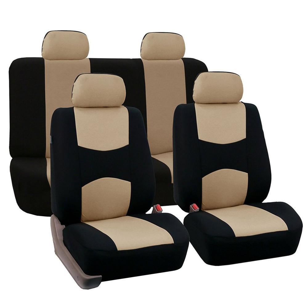 רכב מושב כיסוי 4 חתיכה סט קדמי מושב כיסוי ארבע עונות אוניברסלי לנשימה רך חם מציעים מול מושב כיסוי