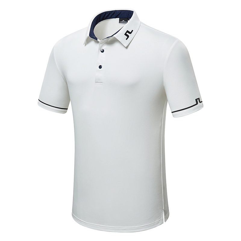Men Golf Clothes JL Short Sleeve Sport Golf T-shirt S-XXL In Choice 4 Colors Sport Leisure Golf Shirt