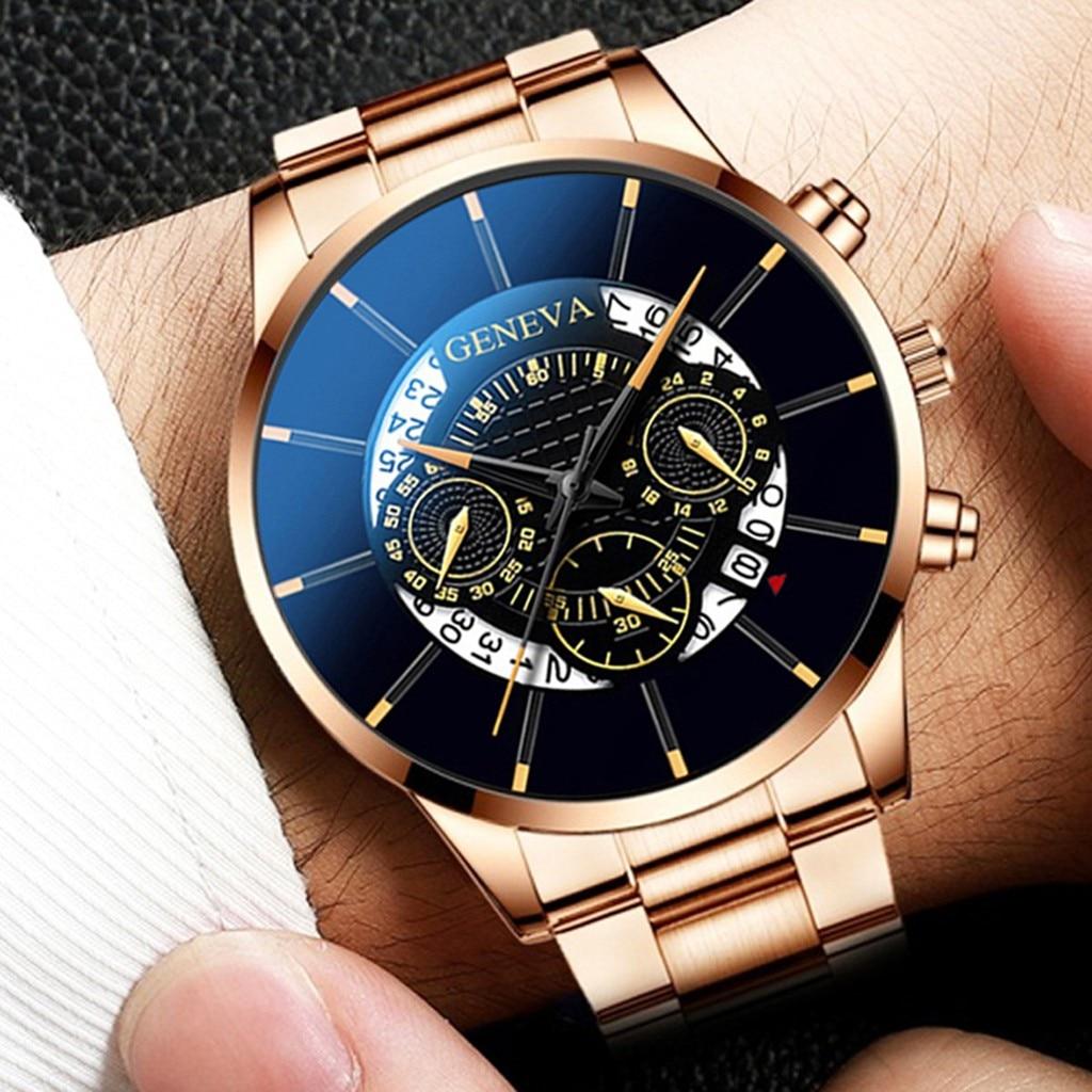 часы Top Brand New Women's Watches Luxury Quartz Watch Women Stainless Steel Strap Big Dial Bussiness Clock Relogio Masculino *A