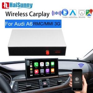 Image 1 - אלחוטי CarPlay לאאודי A6 C7 MMI RMC Carplay תמיכה OEM Retrofit GPS ניבה הפוך מצלמה מסך מתאם אנדרואיד אוטומטי שדרוג