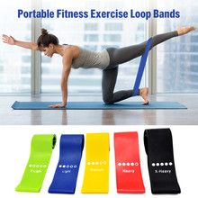 Lixada Sport Oefening Resistance Bands Fitness Gum Set Elastische Booty Band Set 5PCS Voor Thuis en Gym Workout(China)