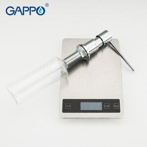 Image 5 - GAPPO キッチンシンクソープディスペンサー内蔵ローションポンププラスチックボトルバスルーム、キッチン液体石鹸多色