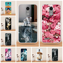 For LG K10 2017 Case Cover 3D Soft Silicone Cover for LG K4 K7 K8 K9 K10 2017 2018 Case Cover Coque Funda for LG K8 K7 K10 Case(China)