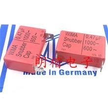 4PCS/10PCS German original capacitance WIMA Snubber Cap 1000V 0.47UF 474 470NF feet away from 37.5mm FREE SHIPPING