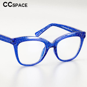 51029 Retro Plastic Titanium Glasses Frames Anti-blue Light Ultralight Men Women Optical Fashion Computer Glasses