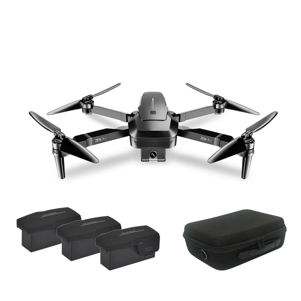 LeadingStar VISUO ZEN K1 Brush-less Dual Camera Optical Flow HD Zoom 4K <font><b>Drone</b></font> Folding Aerial Camera image