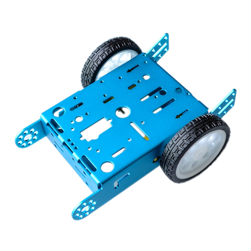 Mini Omni Wheel 3WD Smart Robot Car Chassis Kit with Metal Plate TT Motor for Arduino Microbit DIY Toy Parts STEM Kit