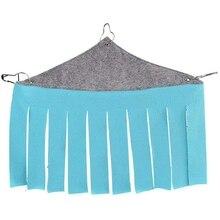 Бмби-палатка для домашних животных, маленькое укрытие, гамак, подвесная кровать с кисточкой, Угловое гнездо для ежика, морская свинка, хомяк, хорек, Шиншилла