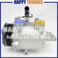 AC Compressor para Mitsubishi Colt 2004-2012 7813A138 MN164472 MR568860 AKC200A080 MR7813A138 AKC011H090B AKC200A080A AKC200A080C