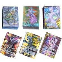 10-300 шт. карты Pokemones Tag Team GX EX MEGA карты английские карты PIKACHU игрушки игры битва карт торговые карты
