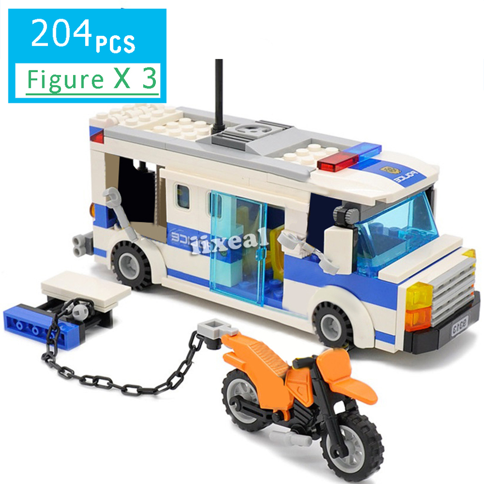 Constructor Military Police Fit Lego City Technic Car Building Blocks Prisoner Transport Vehicle Bricks Toys For Children Gifts Blocks Aliexpress