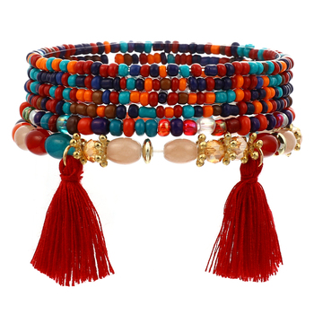 Women's Boho Style Stone Charm Bracelet Bracelets Jewelry New Arrivals Women Jewelry Metal Color: SL1520