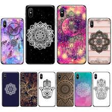 цена Floral Lace Mandala DIY Printing Phone Case cover Shell For iphone 4 4s 5 5s 5c se 6 6s 7 8 plus x xs xr 11 pro max онлайн в 2017 году