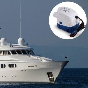 Image 5 - באופן מלא אוטומטי שיפוליים משאבת 1100GPH DC 12V חשמלי מים משאבת עבור Aquario צוללת מטוס ימי בתי מנוע סירה סירה