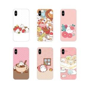 Corée Dessin Animé Pomme De Terre molang Rose Animal Silicone Téléphone étui pour huawei Honneur 4C 5C 6X 7 7A 7C 8 9 10 8C 8S 8X 9X 10I 20 Lite Pro