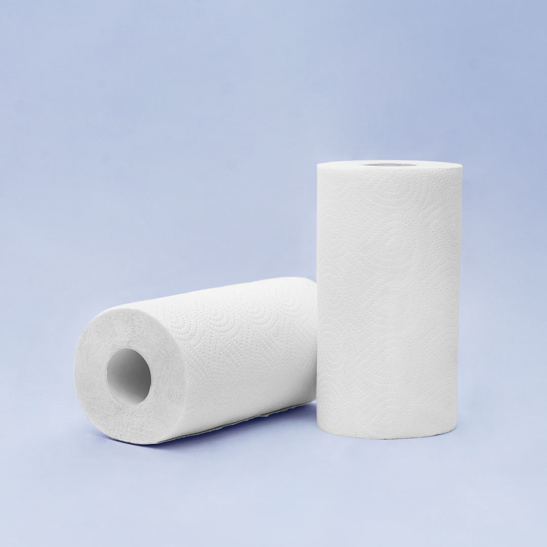 Youjia 10 Rolls Natural Wood Pulp Tissue Kitchen Paper Towel  Absorbent Antibacterial Moistureproof Sanitary Roll Paper Health