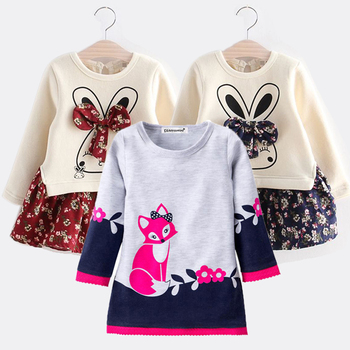 2020 Casual Spring Kids Clothes Baby Girls Dress For Girls Children Clothing Embroidery Dress Girls Princess Dress 2 4 5 6 Years