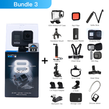 GoPro HERO 8 черная водонепроницаемая Спортивная экшн-камера 4K Ultra HD видео 12 Мп фото 1080p прямая трансляция Go Pro Hero8 видео камера