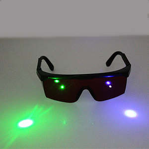 190nm-1200nm Welding Laser IPL beauty protection eyewear Eye protective glasses green Laser purple blue laser Safety Glasses