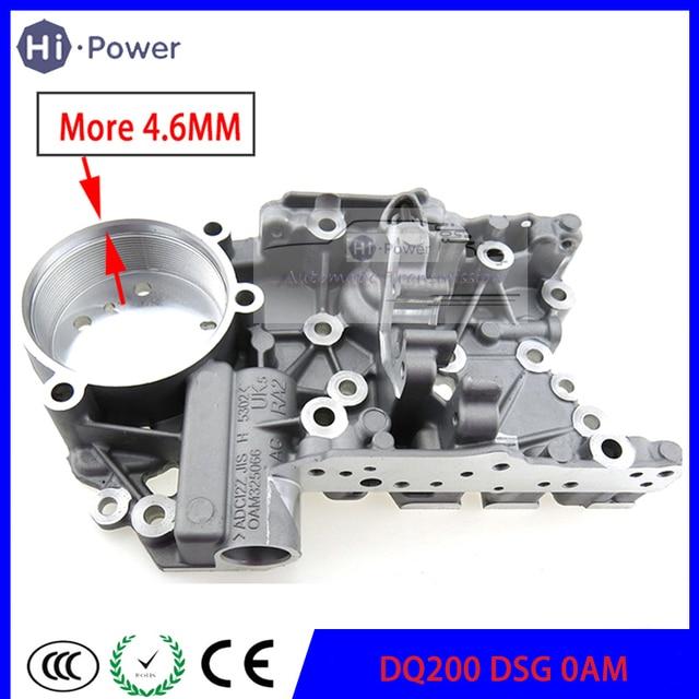 Boîtier daccumulateur de Transmission automatique DQ200 DSG 0AM, 4.6MM, 7 vitesses, pour Audi VW 0AM325066R 0AM325066AC 0AM325066C