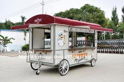 Mobiele Elektrische Voedsel Trailer Food Truck Met Keuken Apparatuur Optioneel Voedsel Kiosk Voedsel Winkelwagen Trailer Met Ce Iso Goedgekeurd