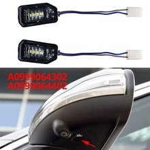 A0999064302 Led Side Mirror Puddle Lamps for MERCEDES BENZ W205 W213 W222 GLB GLC X253 2014 2020 No Camera