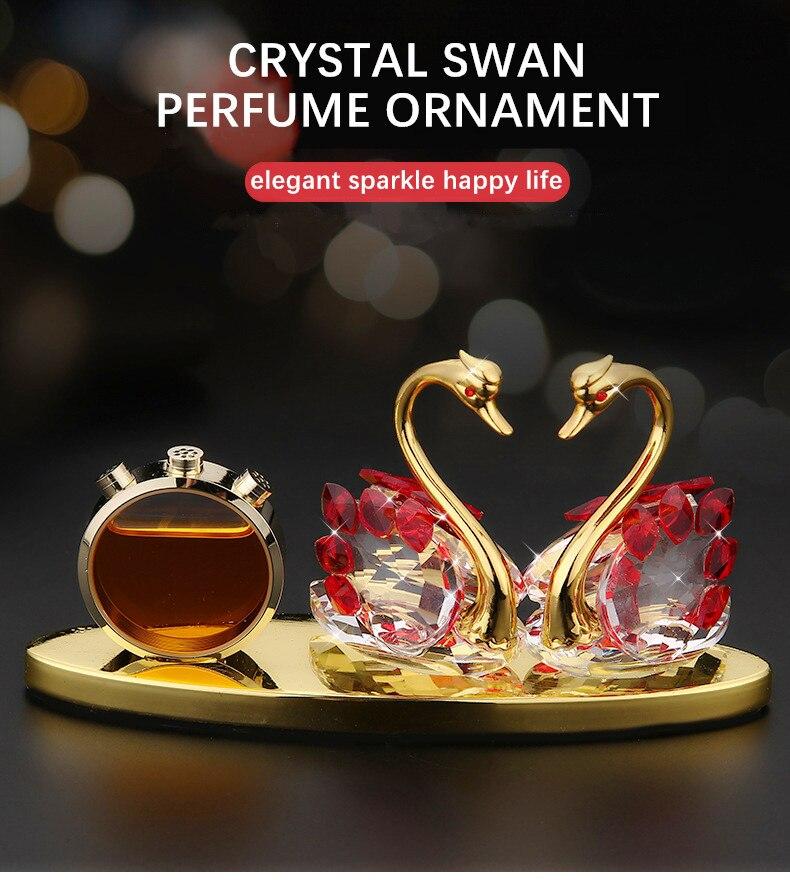 Car Accessori Crystal Vehicle Fragrance Interior Ornament New Generation Alloy of Lock...