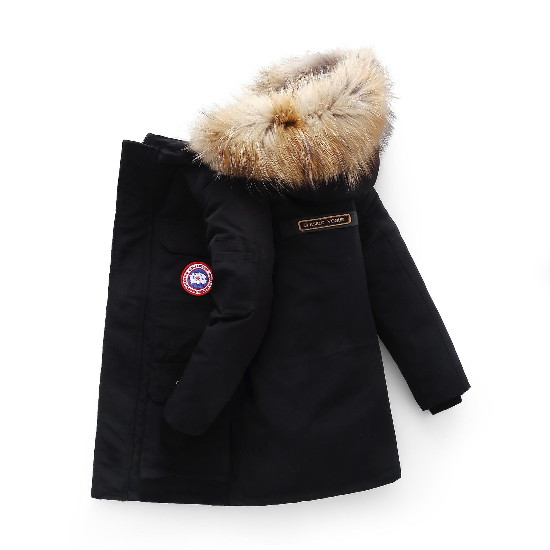 Haut hiver doudoune parka pour filles garçons manteaux garçons doudoune vêtements pour enfants pour vêtements de neige vêtements d'extérieur pour enfant et manteaux