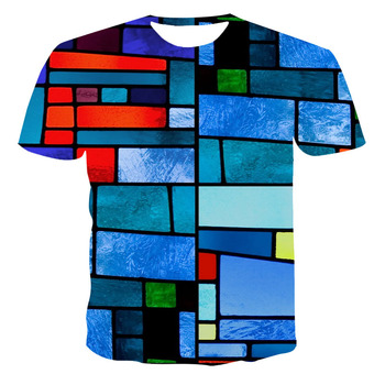2020 T shirt Summer Leisure New Style 3D Printed Short Sleeves Male T-shirt Fashion Top Streetwear