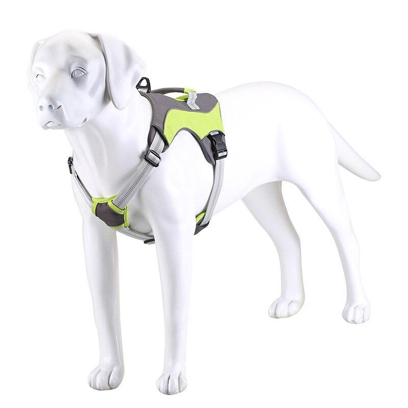ajustable et R/éfl/échissant Petit Camouflage Vert Pawtitas Harnais pour chien chiot facile /à enfiler