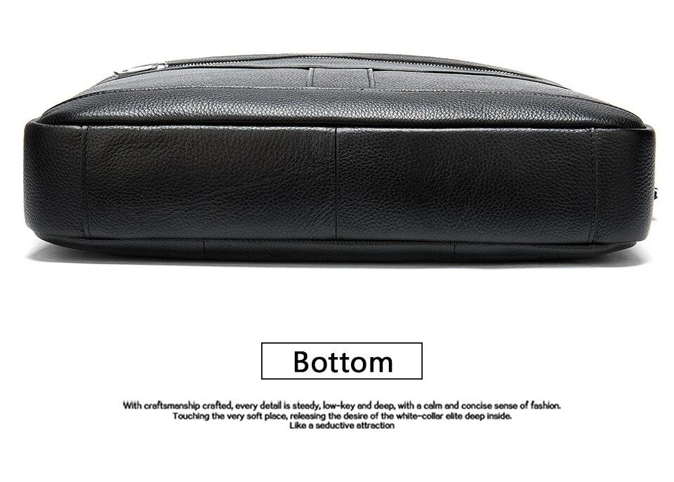 H387b1f5cd30e44b1b9e3956762406139g MVA men's briefcase/genuine Leather messenger bag men leather/business laptop office bags for men briefcases men's bags 8572