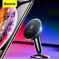 Baseus universal suporte do telefone carro magnético suporte de montagem para o iphone xs max x samsung ímã smartphone cellpone suporte