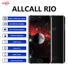 الأصلي Allcall ريو 5.0 بوصة IPS الكاميرا الخلفية أندرويد 7.0 الهاتف الذكي MTK6580A رباعية النواة 1GB RAM 16GB ROM 8.0MP OTG 3G الهاتف المحمول