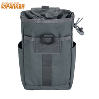 EXCELLENT ELITE SPANKER Outdoor Molle Folding Dump Drop Pouch Recycling Bag Garbage Bags Tactical Equipment Storage Bag