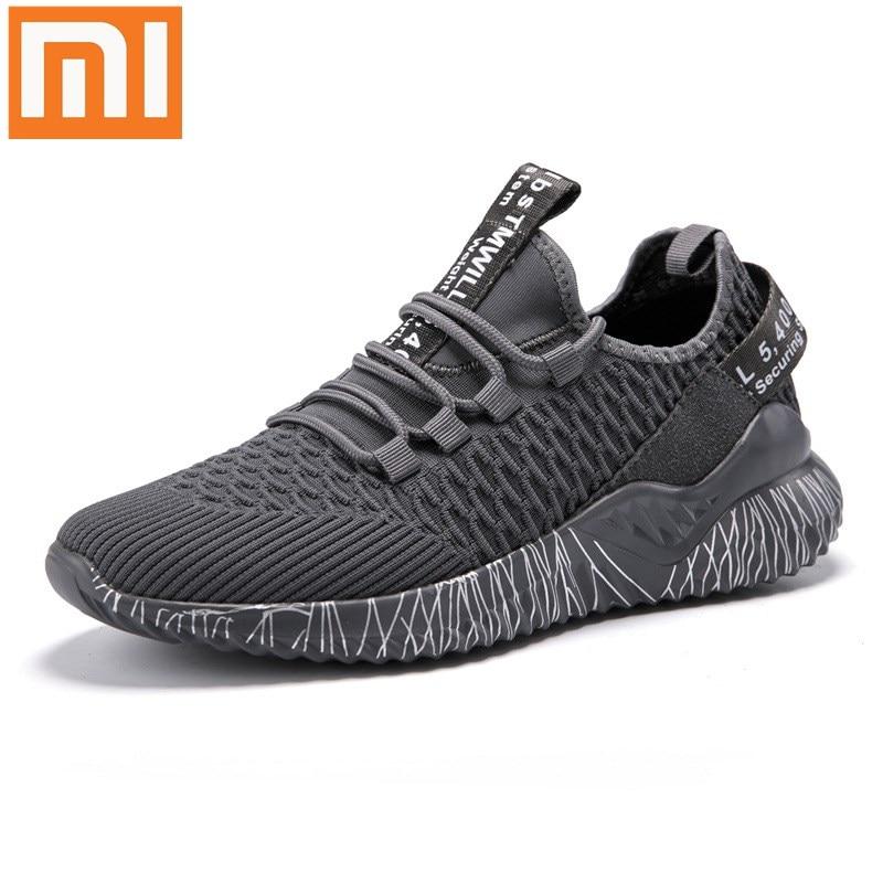 Size 35-46 Xiaomi Mijia Sneaker Mi Men's Running Shoes  Sport Outdoor New Uni-Moulding 2.0 Comfortable and Non-slip Sneakers