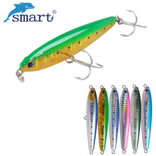 цены Smart Minnow Bait 12cm 19g Floating 2.5-3.5m Fishing Lure VMC Hook Isca Artificial Para Pesca Leurre Dur Peche Wobbler Crankbait