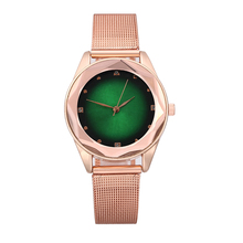2020 New Fashion Luxury Wrist Watches for Women Stylish Starry Star Gold Mesh Stainless Steel Strap Ladies Female Watch