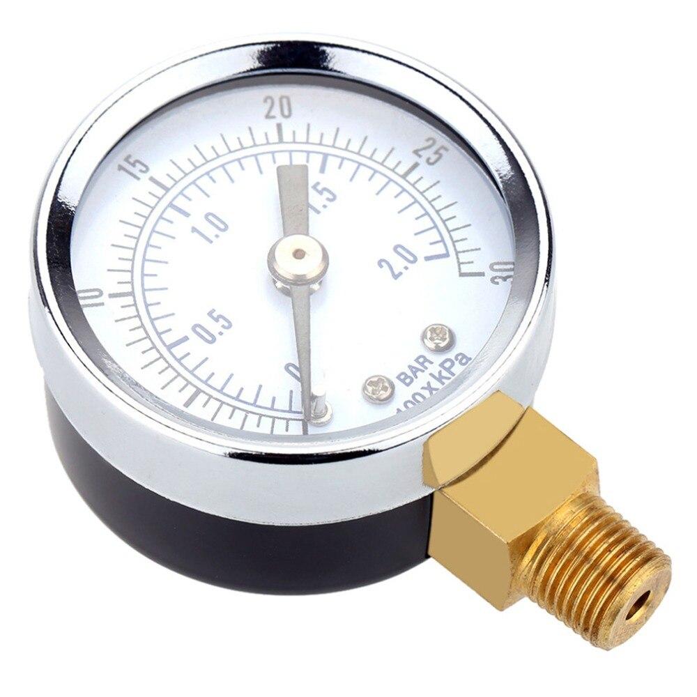 0 ~ 30PSI 0 ~ 2Bar воздушный компрессор манометр 2