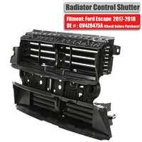 Conjunto novo do obturador da grade do controle do radiador de 1 pces sem motor para a fuga 2017-2019 gv4z8475a de ford