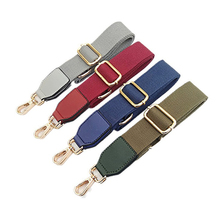 Women Shoulder Bag Strap Solid Color Wide Adjustable Length DIY Bag Belt Replacetment Handle Crossbody Bags Parts Accessories