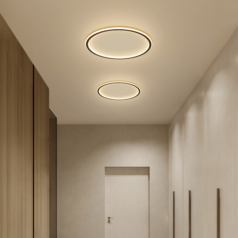 Modern Led Ceiling Light Balcony Porch Restaurant   Living Room Bedroom Bedside Aluminum  Lighting Light