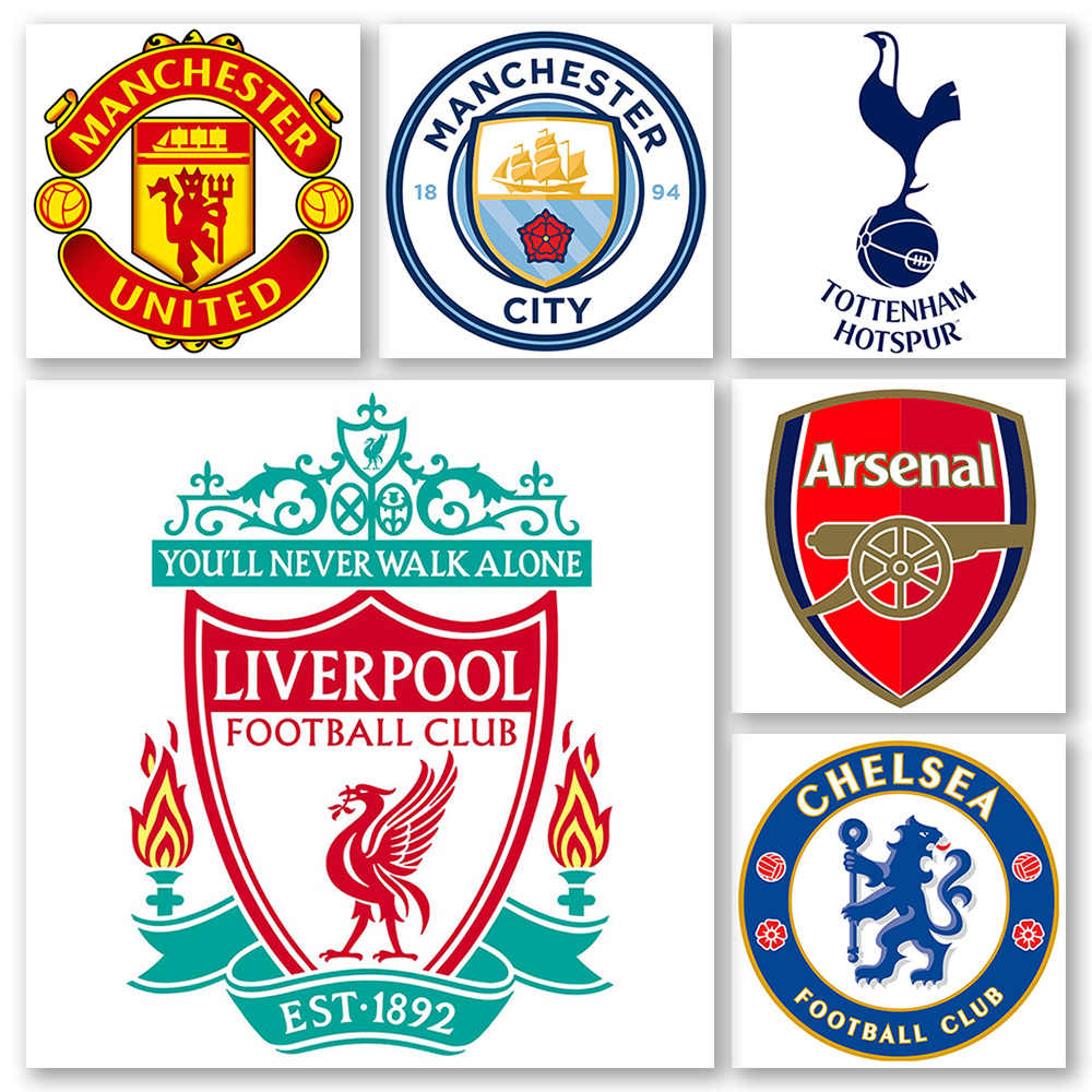 Le Logo du Club de Premier League 5D diamant peinture plein forage Liverpool Football Arsenal Chelsea Manchester United Man City point