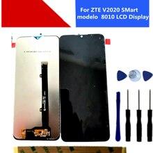 Original para zte v2020 inteligente modelo 8010 display lcd com tela de toque digitador assembléia substituição