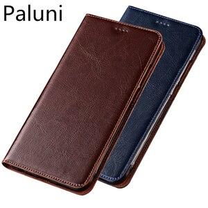 Image 1 - Genuíno couro flip slot para cartão de telefone bag para Samsung Galaxy M30/Samsung Galaxy M20/Samsung Galaxy M10 ultra tampa do telefone fino