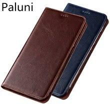 Genuine leather flip phone bag card slot holder for Xiaomi Mi8/Xiaomi Mi8 SE/Xiaomi Mi8 Lite ultra slim phone cover funda capa