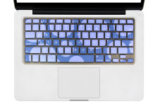 Apple MacBook Air Pro Retina 13.3-Inch 15-Inch 17-Inch New Camouflage Silicone Protective Film
