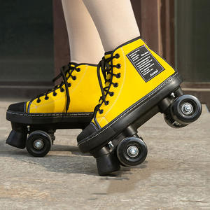 Roller-Skates Patines New-Style Double-Row Adult Women Outdoor